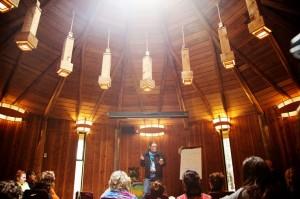 Stephen Jenkinson - Teaching at Hollyhock