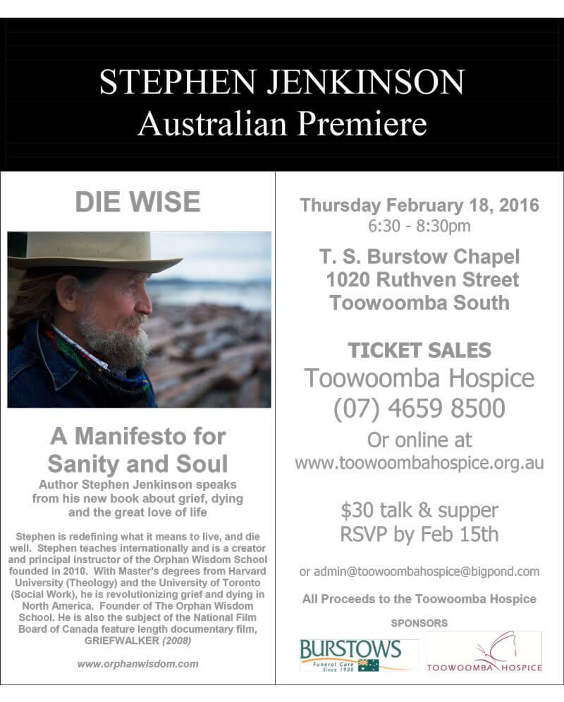 Stephen Jenkinson Poster 1 PDF File
